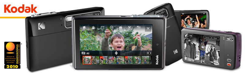 Kodak Touchscreen Camera UX